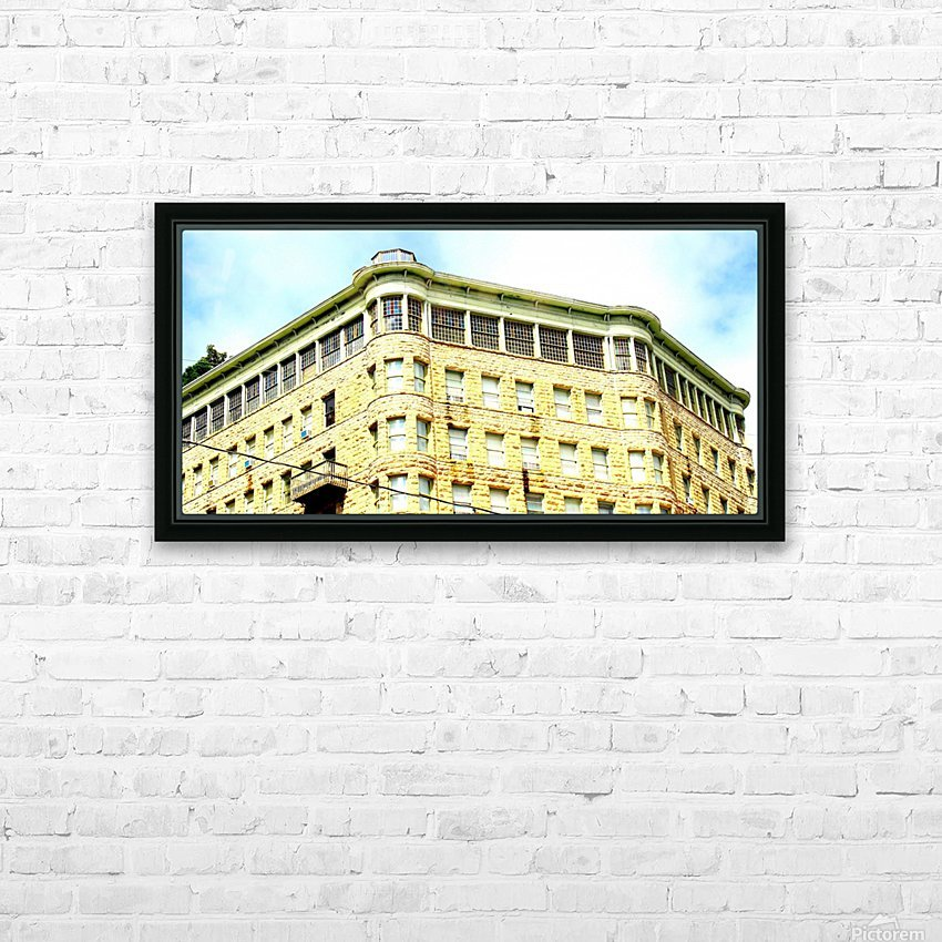 Basin Park HD Sublimation Metal print with Decorating Float Frame (BOX)