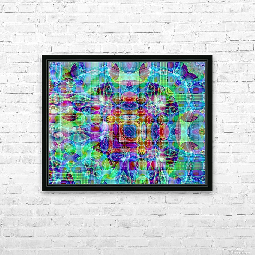 A.P.Polo - Medusa HD Sublimation Metal print with Decorating Float Frame (BOX)