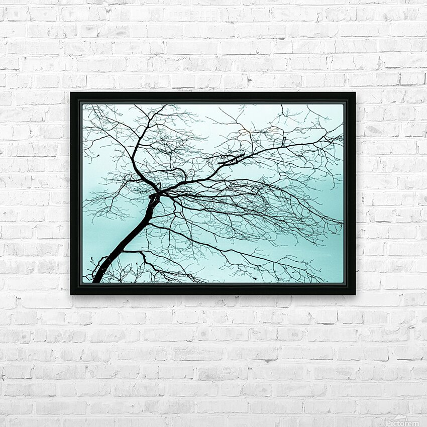 Branchlets HD Sublimation Metal print with Decorating Float Frame (BOX)