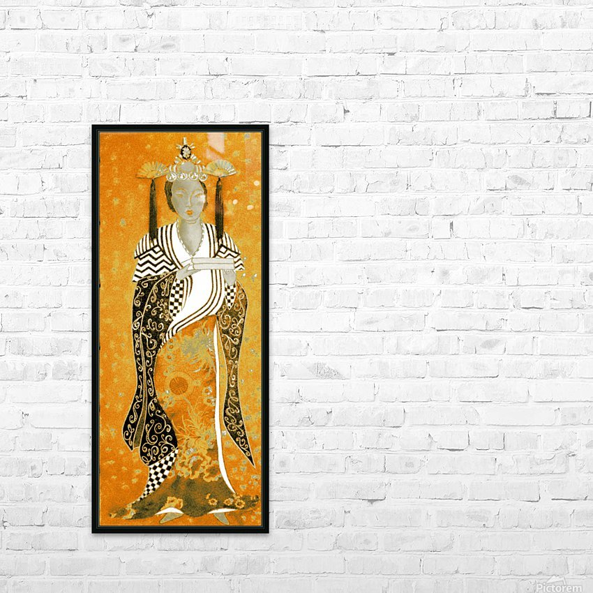 RÚ--in Orange HD Sublimation Metal print with Decorating Float Frame (BOX)