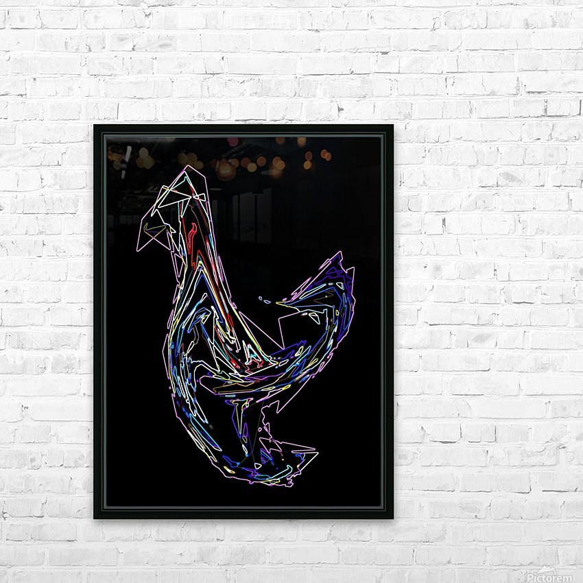 BIRD HD Sublimation Metal print with Decorating Float Frame (BOX)