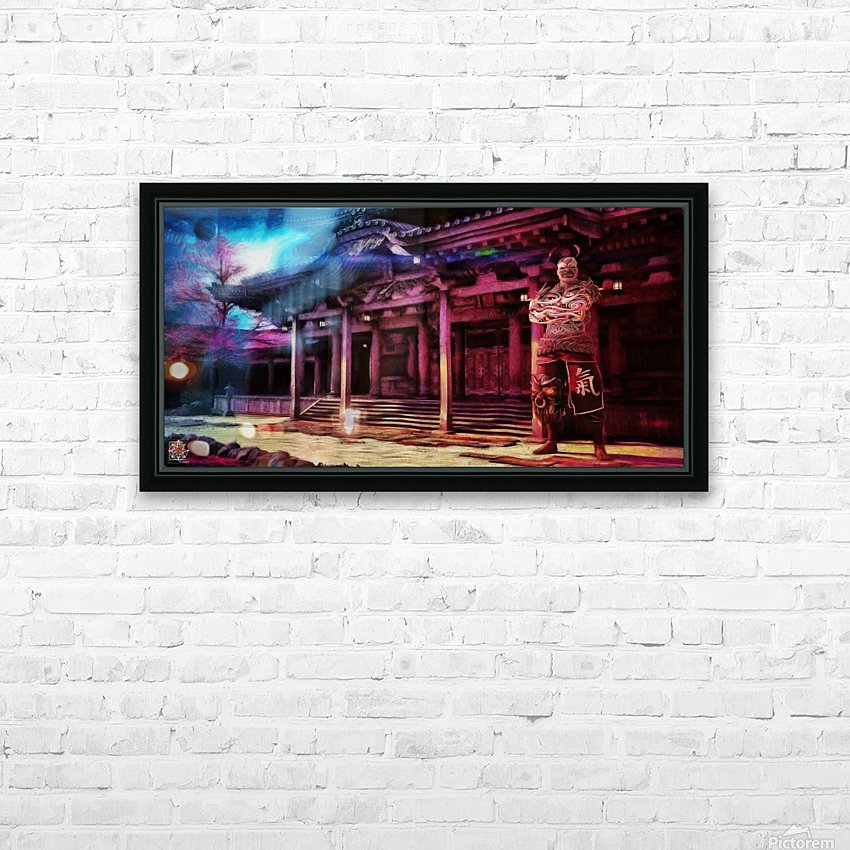 Oni HD Sublimation Metal print with Decorating Float Frame (BOX)
