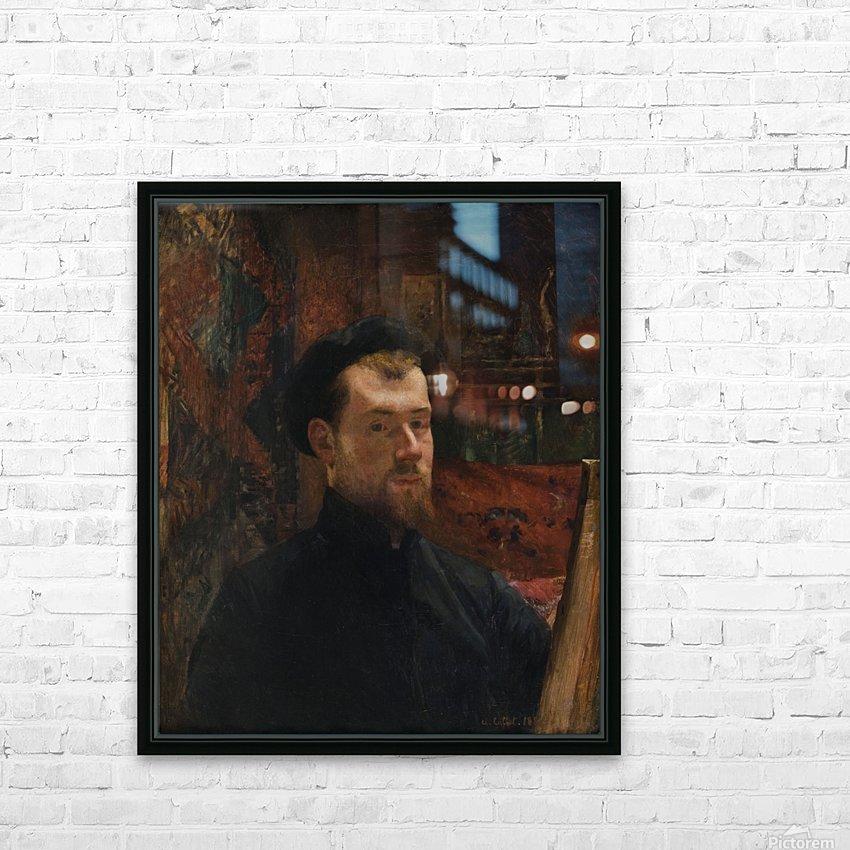Catechisme dans une eglise HD Sublimation Metal print with Decorating Float Frame (BOX)