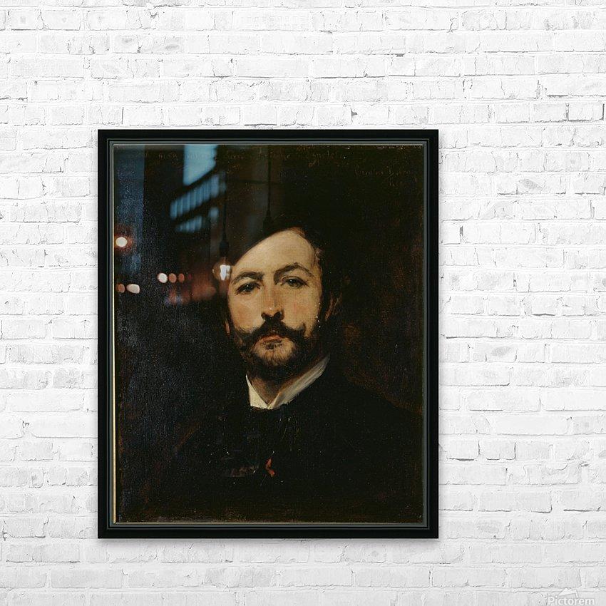 Portrait du baron Antoine d Ezpeleta HD Sublimation Metal print with Decorating Float Frame (BOX)