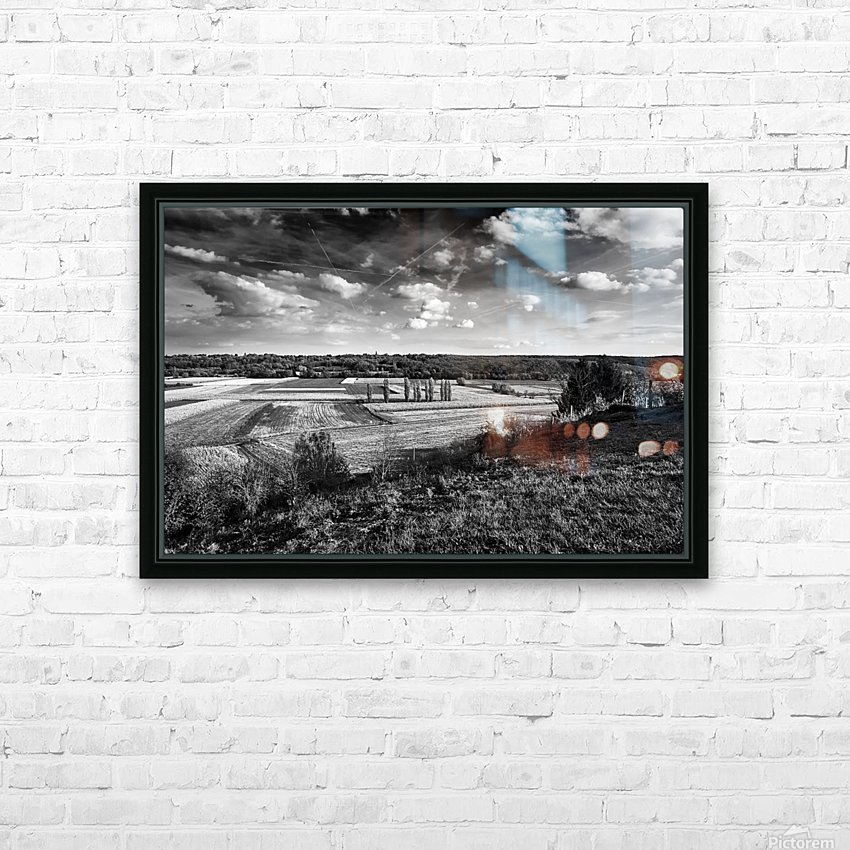 The Fellowship Of The Trees HD Sublimation Metal print with Decorating Float Frame (BOX)