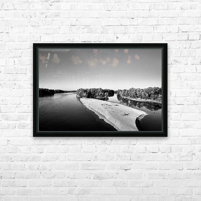 Dreamy Horizon HD Sublimation Metal print with Decorating Float Frame (BOX)