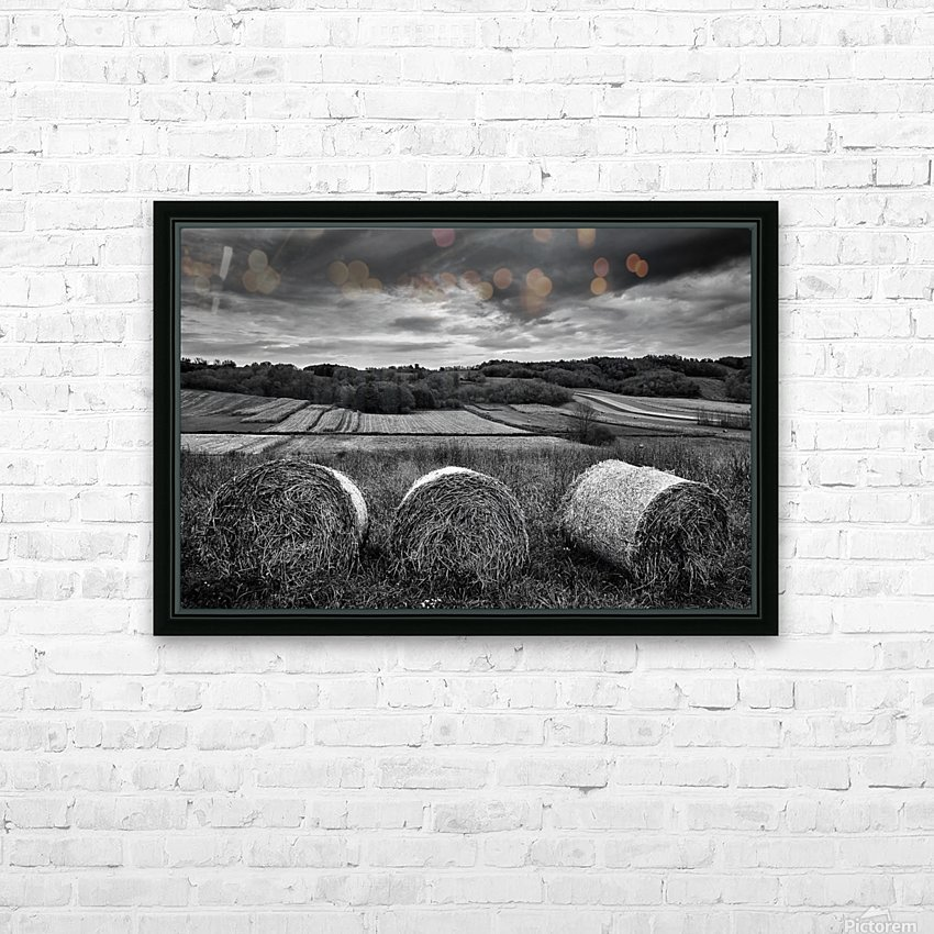 Rolling Down The Hill HD Sublimation Metal print with Decorating Float Frame (BOX)