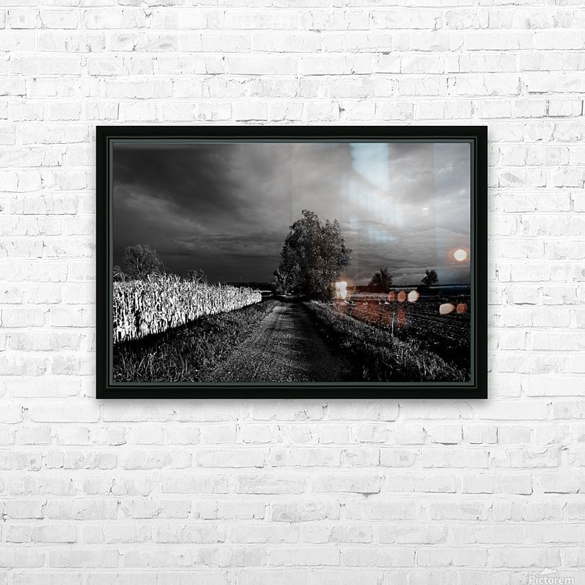 Drama HD Sublimation Metal print with Decorating Float Frame (BOX)