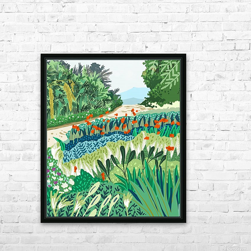 Solo Walk HD Sublimation Metal print with Decorating Float Frame (BOX)
