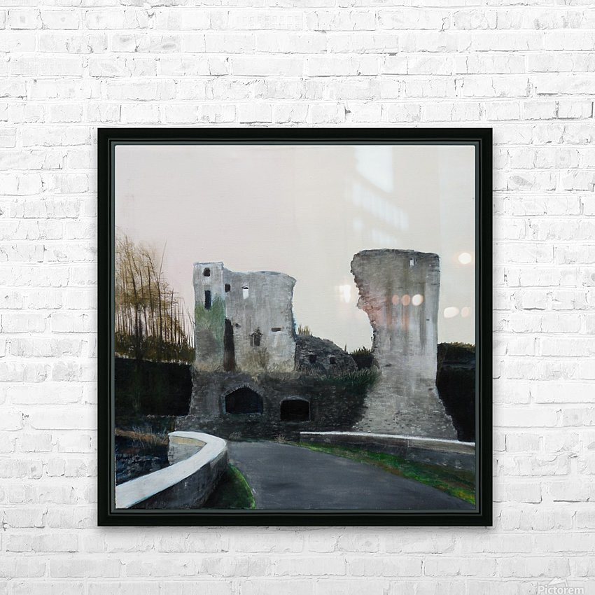Mahee Castle HD Sublimation Metal print with Decorating Float Frame (BOX)