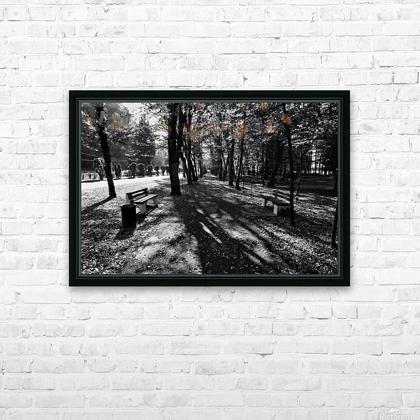 Park Hour HD Sublimation Metal print with Decorating Float Frame (BOX)