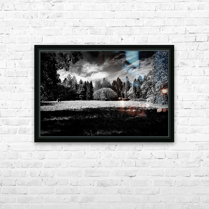 Autumn Theater HD Sublimation Metal print with Decorating Float Frame (BOX)