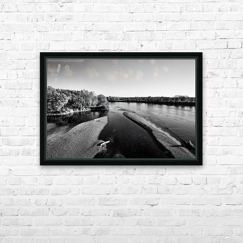 Washed Up On The Shore HD Sublimation Metal print with Decorating Float Frame (BOX)