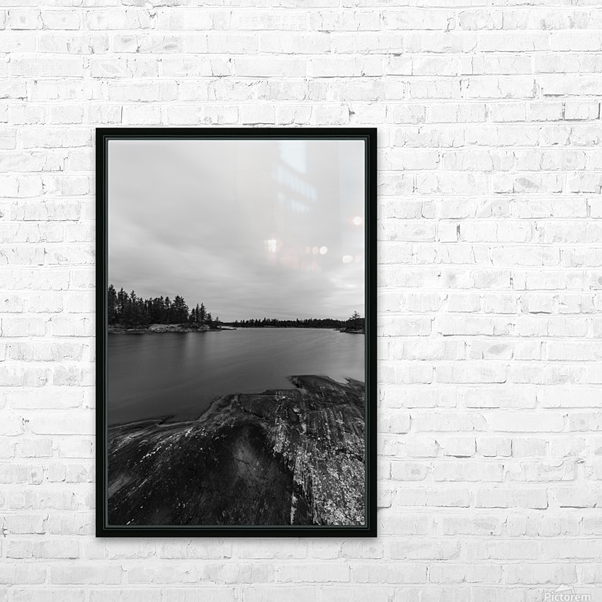 Elton Lake HD Sublimation Metal print with Decorating Float Frame (BOX)