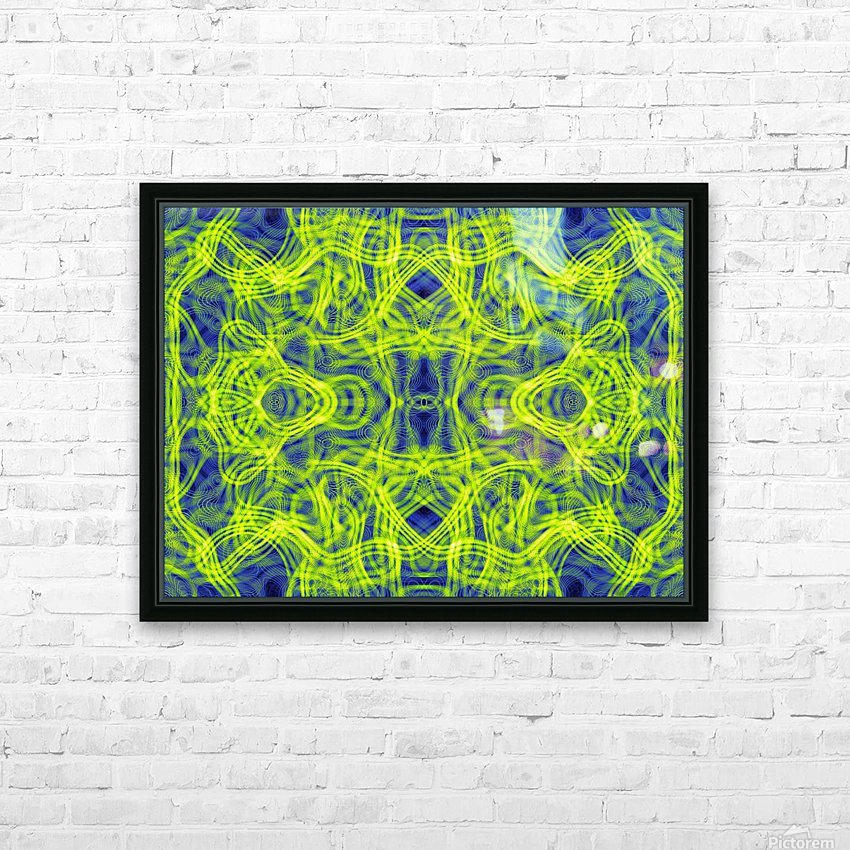 DARK MATTER ANGEL  HD Sublimation Metal print with Decorating Float Frame (BOX)
