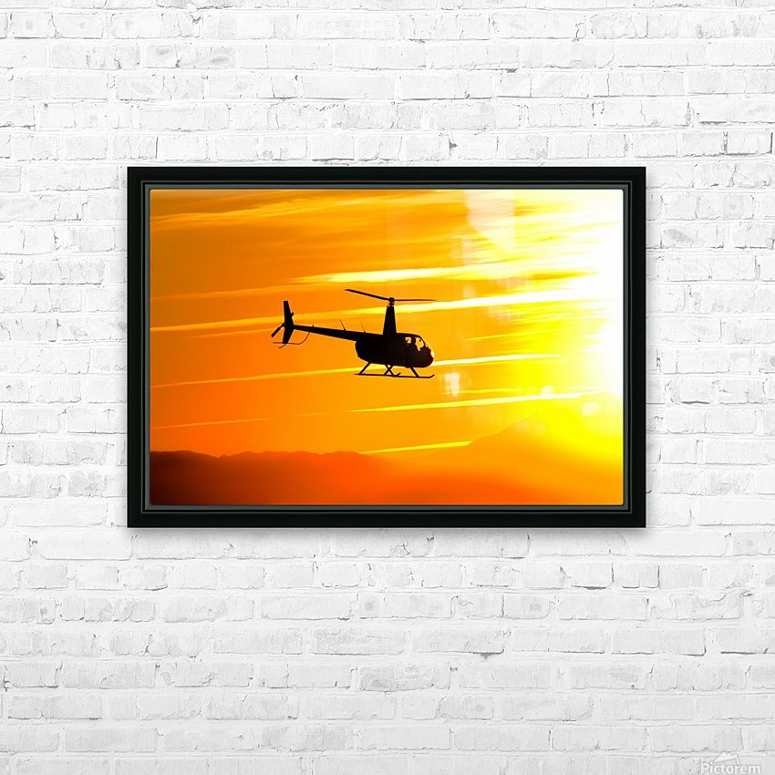 How the Wind Blew Down HD Sublimation Metal print with Decorating Float Frame (BOX)