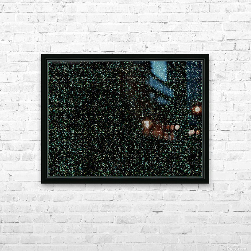 DARK MATTER  HD Sublimation Metal print with Decorating Float Frame (BOX)