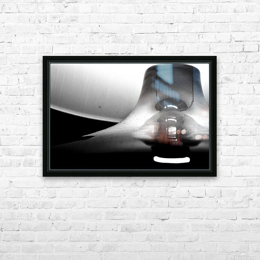 Here Alone HD Sublimation Metal print with Decorating Float Frame (BOX)