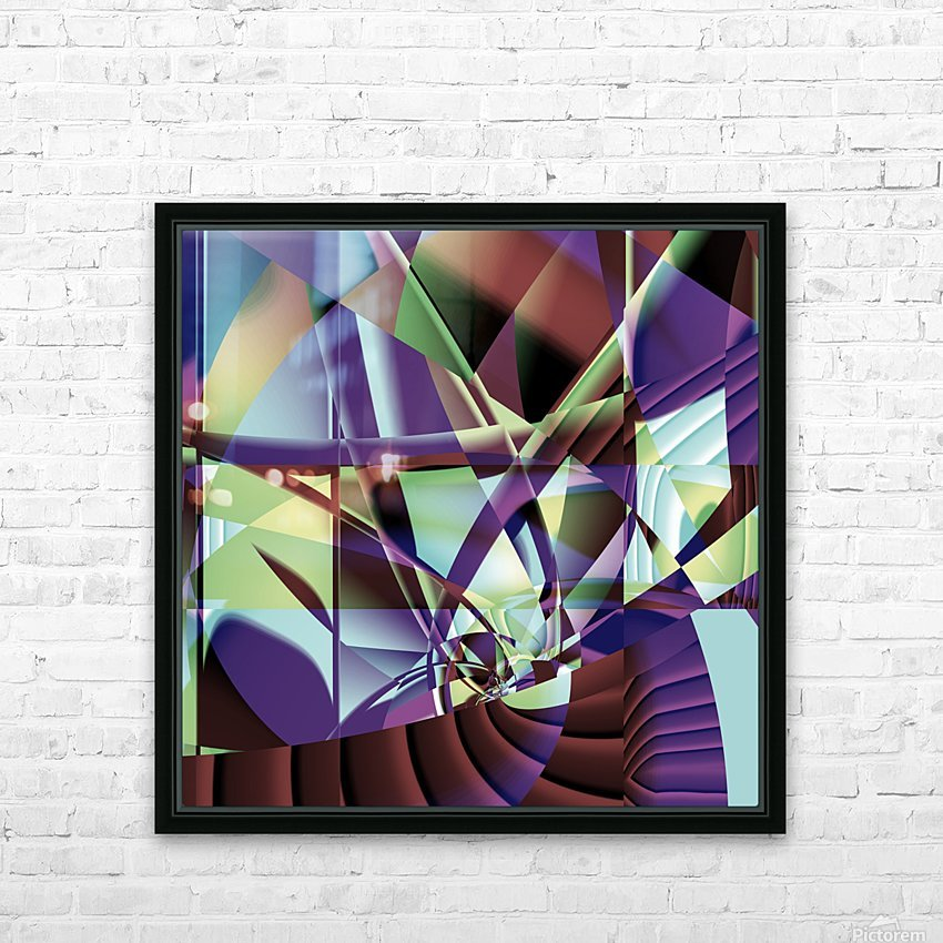 Make_Sail_1 HD Sublimation Metal print with Decorating Float Frame (BOX)