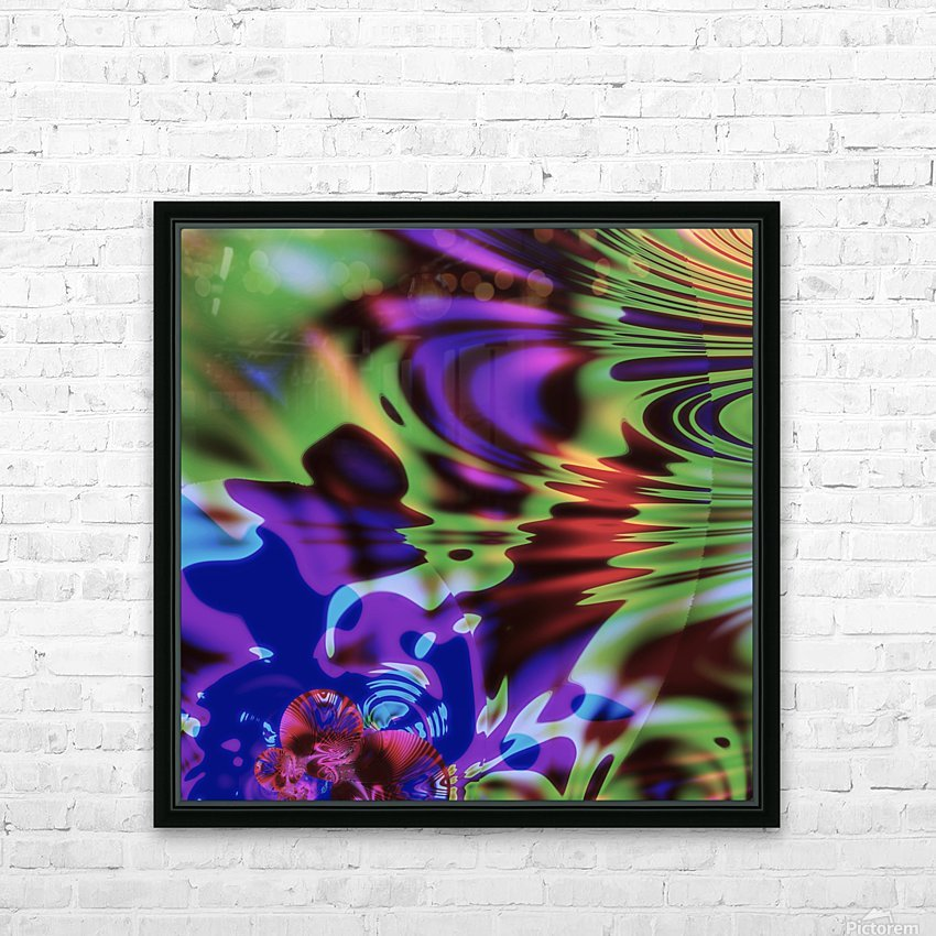Give_It_A_Blow HD Sublimation Metal print with Decorating Float Frame (BOX)