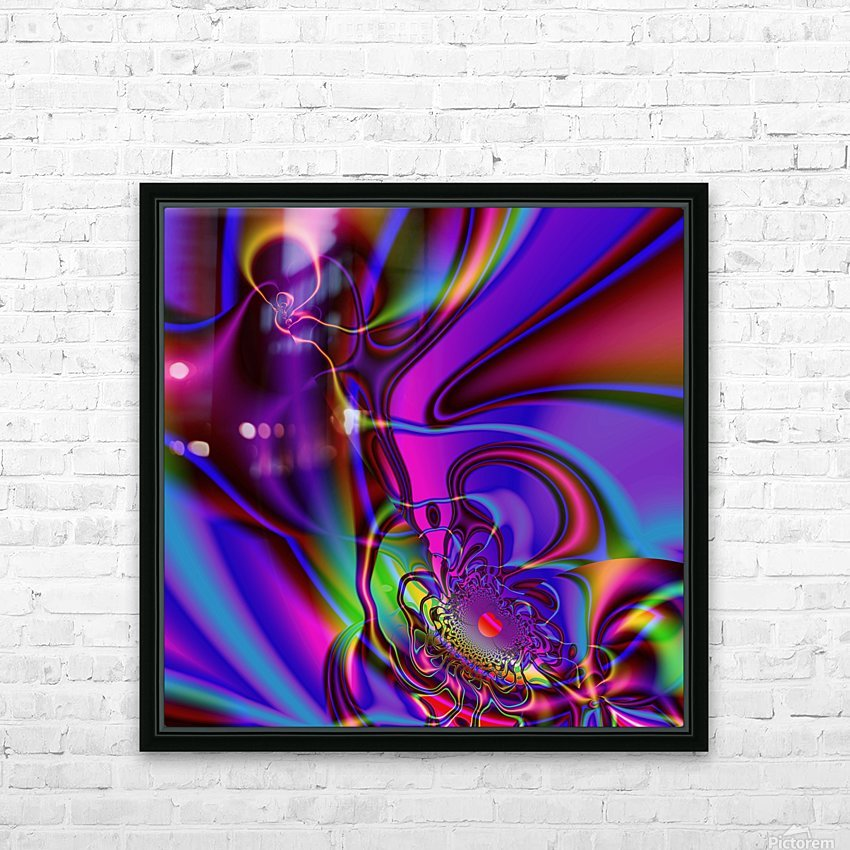 Hasta_El_Fuego_2 HD Sublimation Metal print with Decorating Float Frame (BOX)