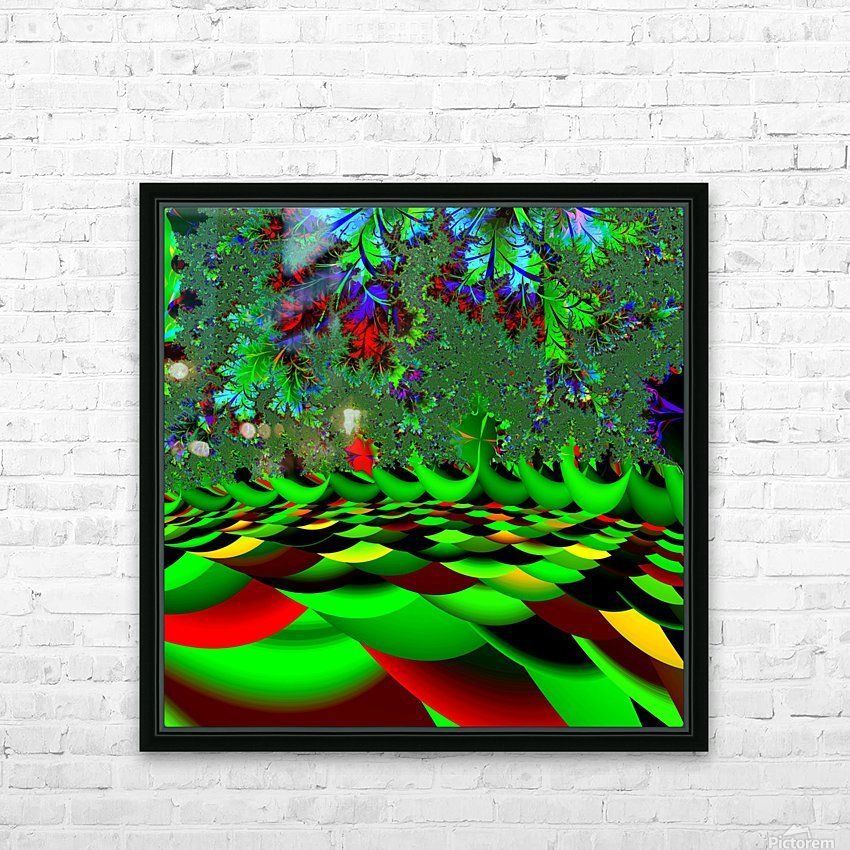 Garden_of_Eden_1 HD Sublimation Metal print with Decorating Float Frame (BOX)