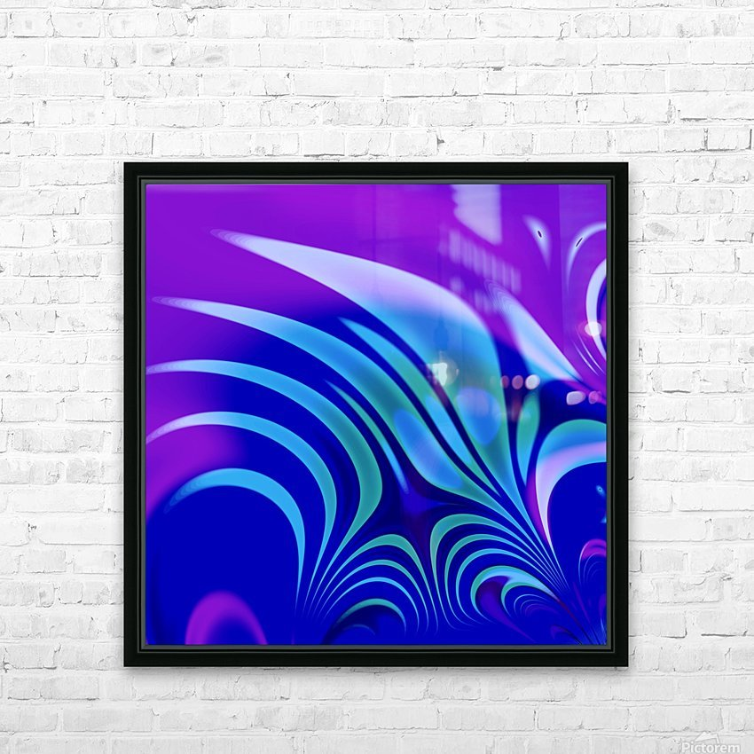 Enchanted_Swamp_Series HD Sublimation Metal print with Decorating Float Frame (BOX)
