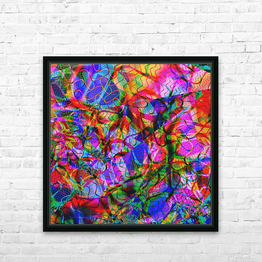 Jazz_Fusion_Series_2 HD Sublimation Metal print with Decorating Float Frame (BOX)