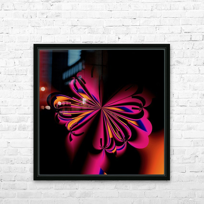 Fly_fly_fly_take_1 HD Sublimation Metal print with Decorating Float Frame (BOX)