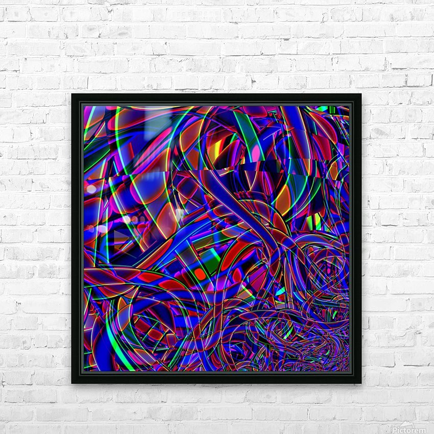 Homage_To_Dale_Chihuly HD Sublimation Metal print with Decorating Float Frame (BOX)