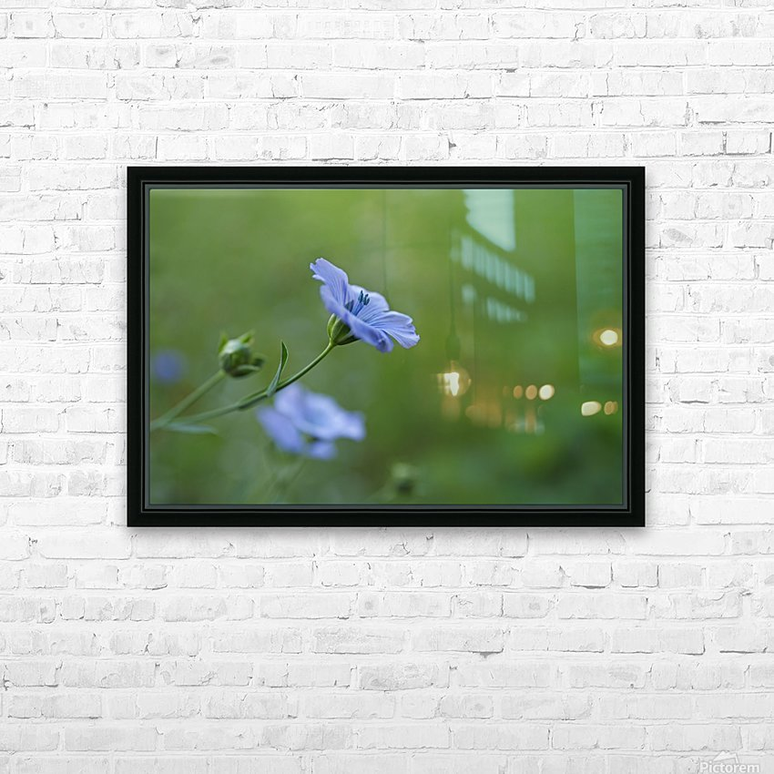 DELICATE  HD Sublimation Metal print with Decorating Float Frame (BOX)