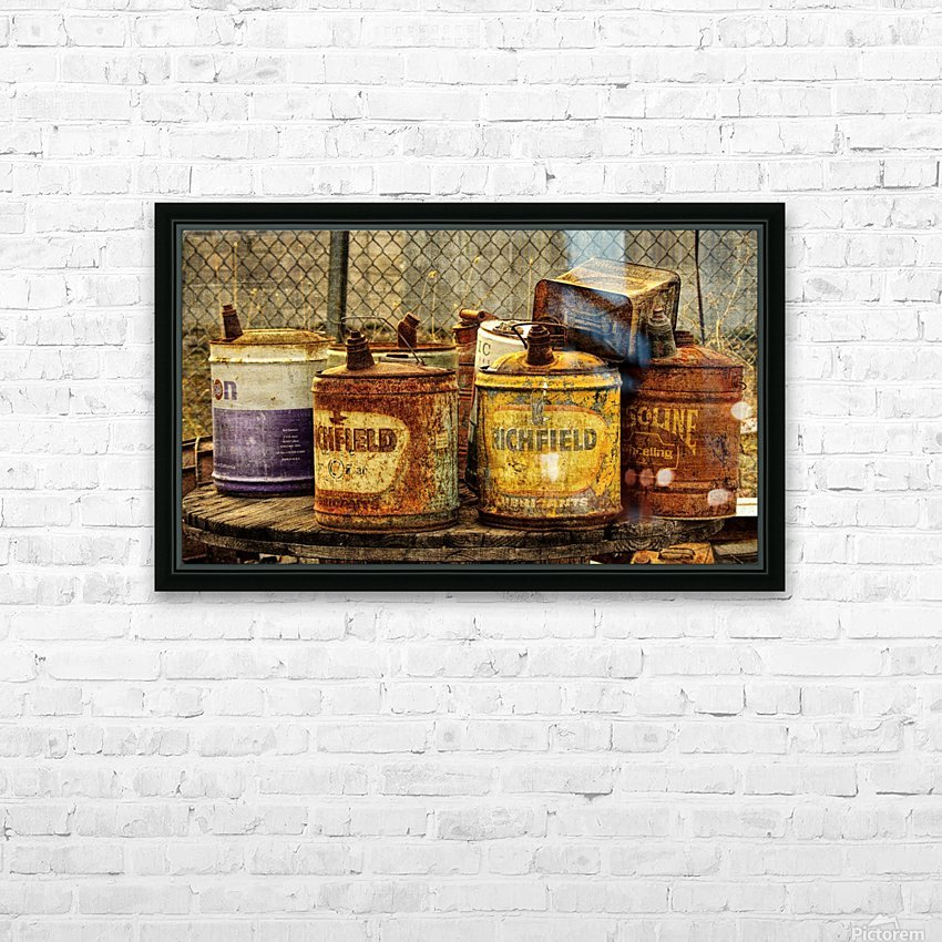 Rusting HD Sublimation Metal print with Decorating Float Frame (BOX)