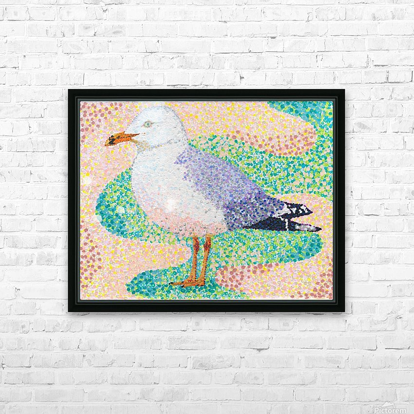 Seagull HD Sublimation Metal print with Decorating Float Frame (BOX)