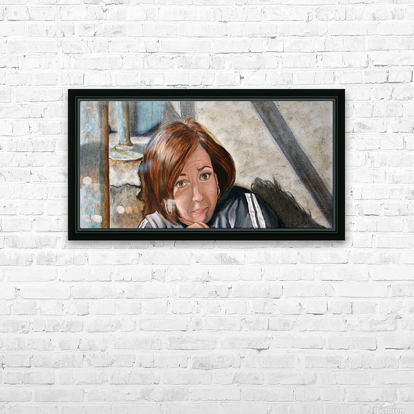 AAAAHHHH -  Panel 1 of 3 HD Sublimation Metal print with Decorating Float Frame (BOX)