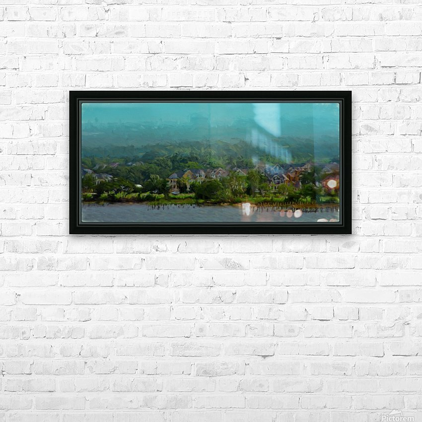 South Carolina Bay  HD Sublimation Metal print with Decorating Float Frame (BOX)