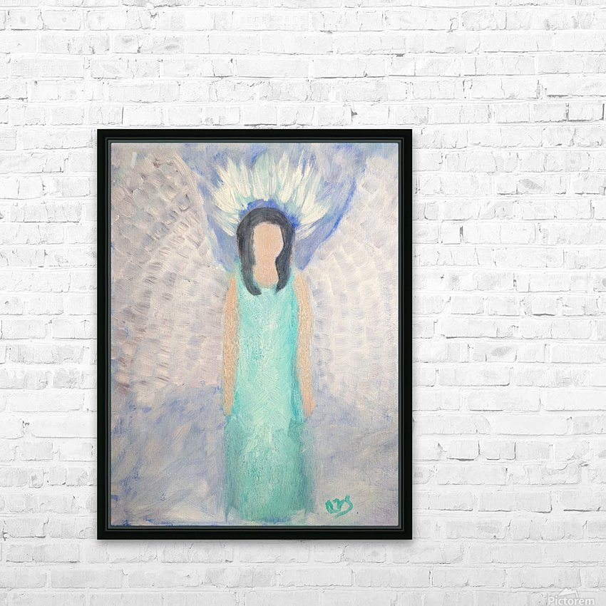 Belonging to the Angels HD Sublimation Metal print with Decorating Float Frame (BOX)