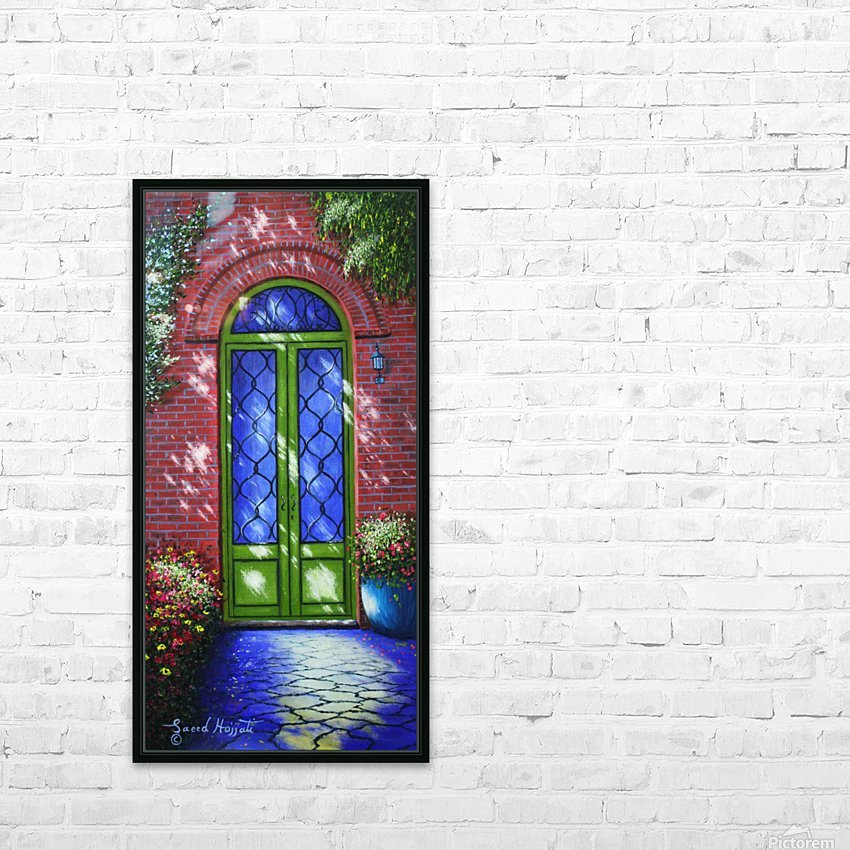 Path of Light HD Sublimation Metal print with Decorating Float Frame (BOX)