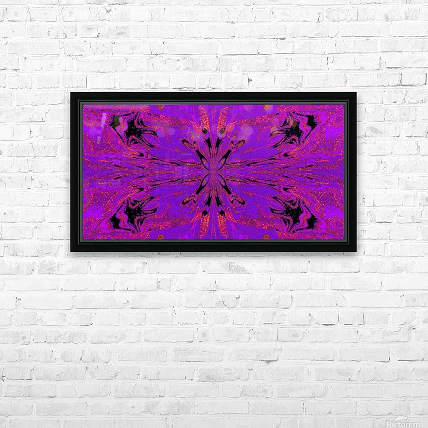 Abstract Butterfly 48 HD Sublimation Metal print with Decorating Float Frame (BOX)