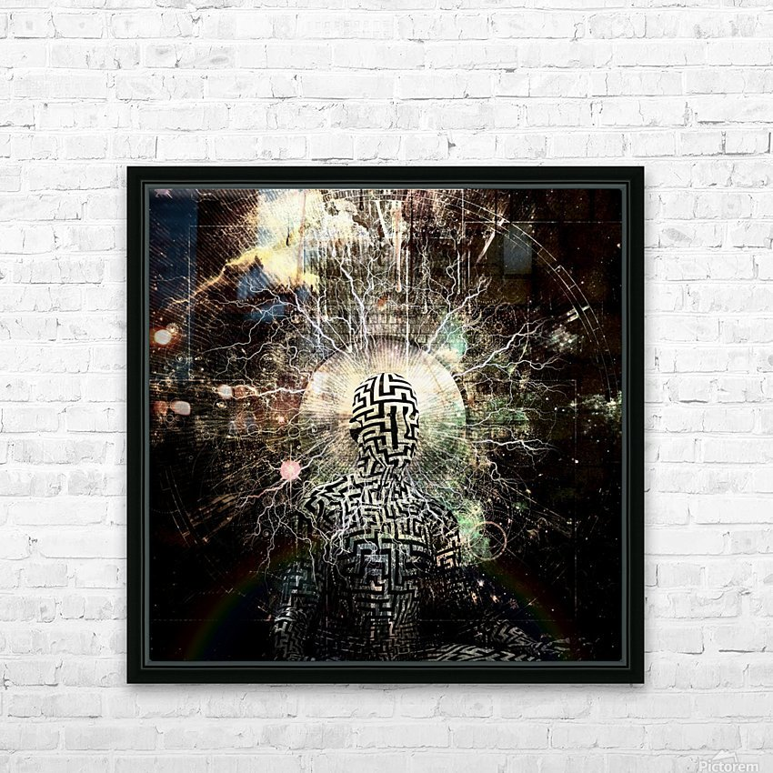 Zen Power HD Sublimation Metal print with Decorating Float Frame (BOX)