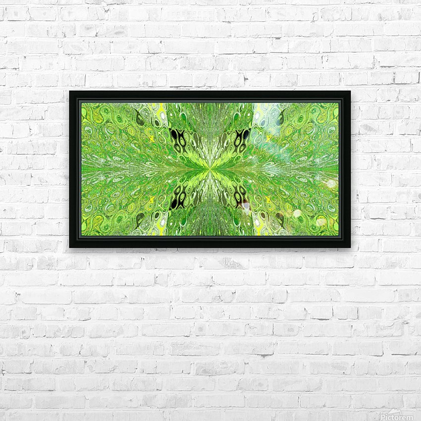 Butterfly in Crystal 70 HD Sublimation Metal print with Decorating Float Frame (BOX)