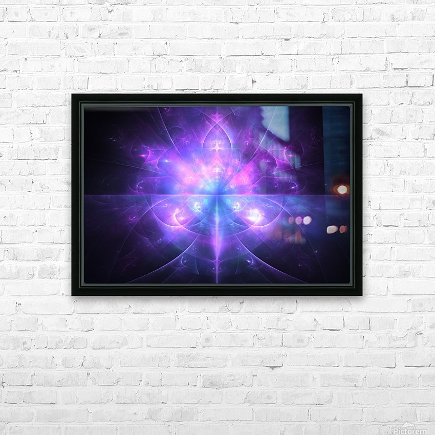 Ace HD Sublimation Metal print with Decorating Float Frame (BOX)