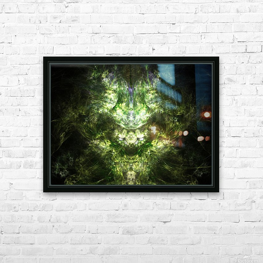 Earth Giant HD Sublimation Metal print with Decorating Float Frame (BOX)