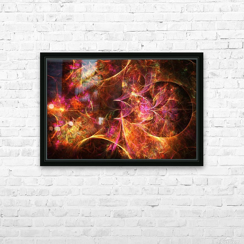 Dark night longing HD Sublimation Metal print with Decorating Float Frame (BOX)