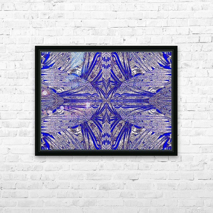 The Butterfly Inside HD Sublimation Metal print with Decorating Float Frame (BOX)