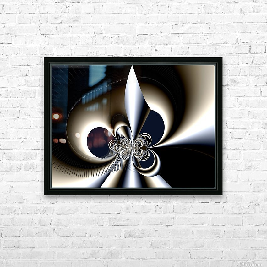 Ex_Libris_series_11 HD Sublimation Metal print with Decorating Float Frame (BOX)