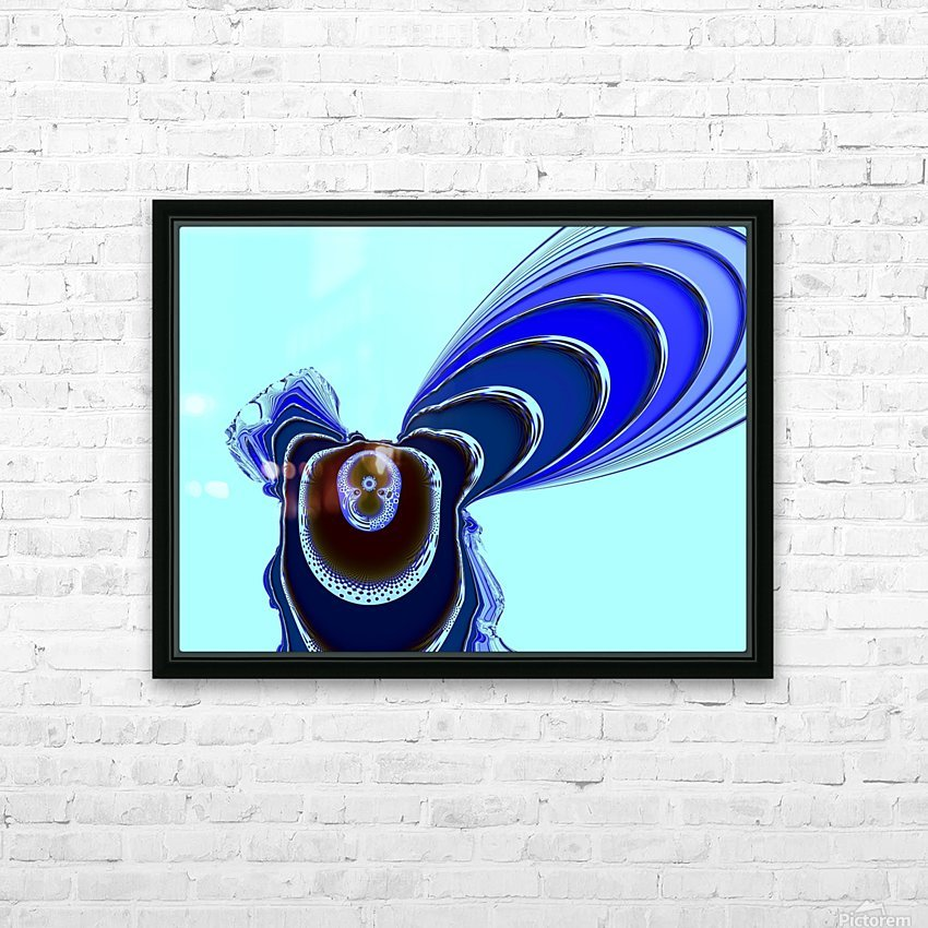 Fly_Fly_Fly HD Sublimation Metal print with Decorating Float Frame (BOX)
