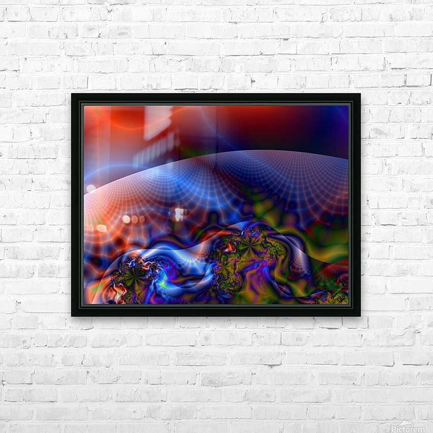 Weather_Report_19 HD Sublimation Metal print with Decorating Float Frame (BOX)