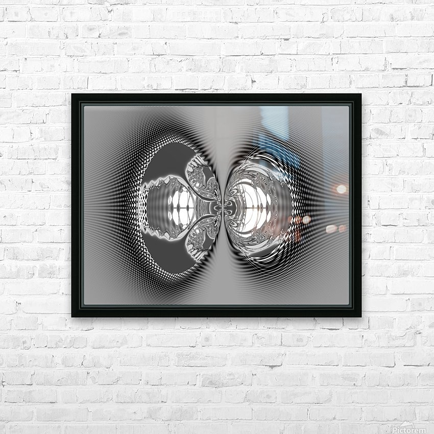Give_Us_a_Kiss_3 HD Sublimation Metal print with Decorating Float Frame (BOX)