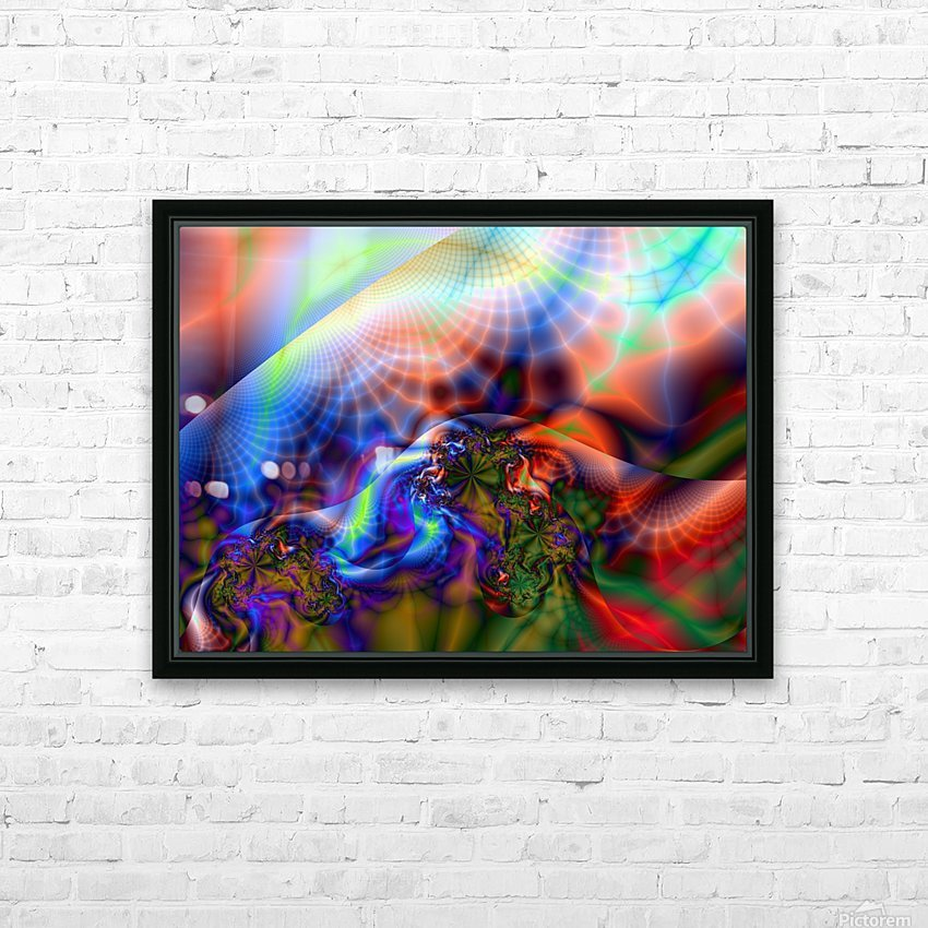 Weather_Report_11 HD Sublimation Metal print with Decorating Float Frame (BOX)
