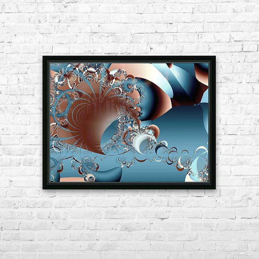 Gargantuan_Hatching HD Sublimation Metal print with Decorating Float Frame (BOX)